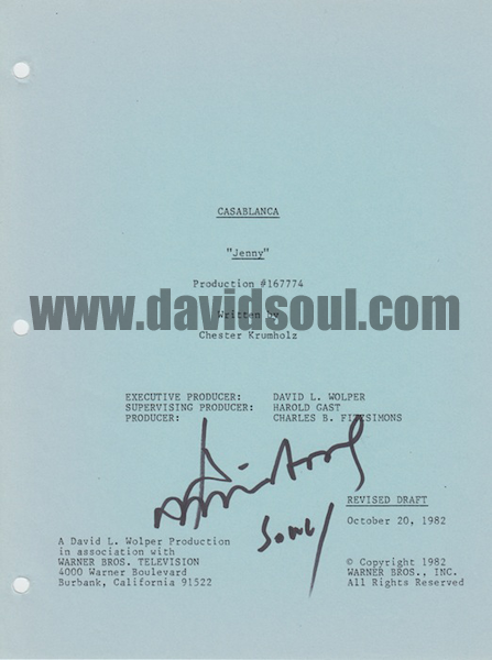 David Soul — Casablanca