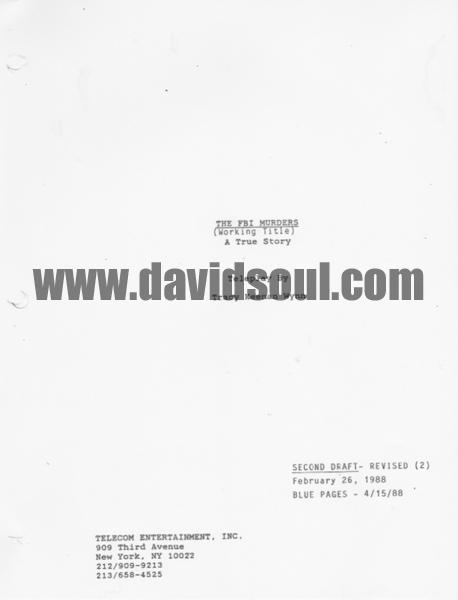 David Soul — The FBI Murders