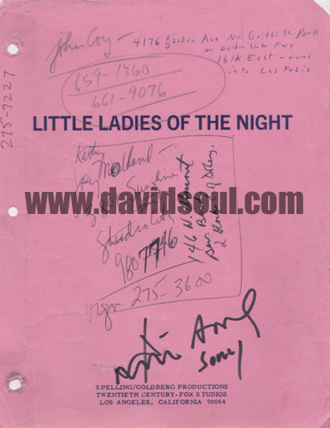 David Soul — Little Ladies of the Night