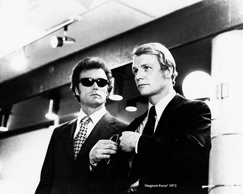 Clint Eastwood and David Soul